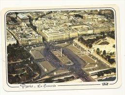 Cp, 75, Paris, La Place De La Concorde, Et L'Eglise De La Madeleine - Chiese