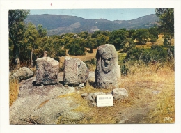 Cp, 20(2A), Sollacaro, Statue De Filitosa, Voyagée 1971 - Other Municipalities