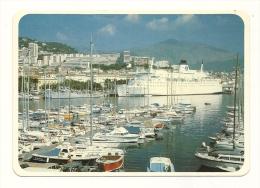 Cp, 20(2A), Ajaccio, Le Napoléon à Quai Et Le Port De Plaisance, écrite - Ajaccio