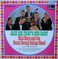 * LP *  RITA REYS & DUTCH SWING COLLEGE BAND - JAZZ SIR, THAT'S OUR BABY (NL 1965) - Jazz