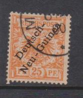 New Guinea German 1897 Overprints 25 Pf Orange FU - Colonie: Nouvelle Guinée