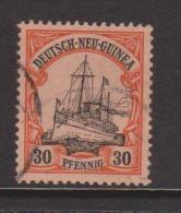 New Guinea German 1901 Kaisers Yacht 30 Pf FU - Colonie: Nouvelle Guinée