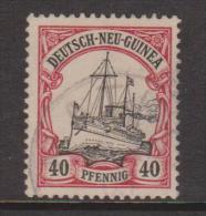New Guinea German 1901 Kaisers Yacht 40 Pf FU - Colonie: Nouvelle Guinée