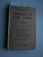 A.K. Sharp : Heralds Of The Dawn (1921) : D Livingstone, J Chalmers, M Slessor, - Voyages