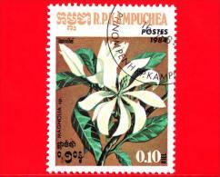 KAMPUCHEA - Cambogia - 1984 - Fiori - Flowers - Fleurs - Magnolia - 10 - Kampuchea
