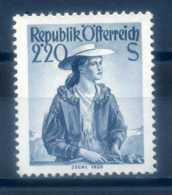 AUSTRIA - 1948 COSTUMES 2.20 SLATE - 1945-.... 2nd Republic