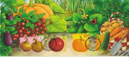 Finland Maximum Card Mi 2025 - 2528 Funny Vegetables Tomato - Onions - Pumpkin - Cucumber 2010 - Enteros Postales