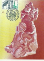 RHONE ALPES - 69 - RHONE - VILLEFRANCHE SUR SAONE - Congrès Des Fédérations Philatéliques 1990 - Cartoline Maximum