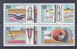 ALLEMAGNE DDR 2557/60 Géophysique - Pétrole - [6] République Démocratique