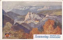 CPA  AUTRICHE - SEMMERING - Semmering
