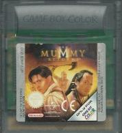 - JEU GAME BOY COLOR THE MUMMY RETURNS (GAME BOY COLOR, GBA) - Nintendo Game Boy