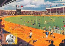 D14416 CARTE MAXIMUM CARD 2012 NETHERLANDS - ATHLETES RUNNING FINISH CP ORIGINAL - Athletics