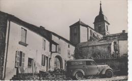 FRESNES-sur-APANCE : (52) Vue De L'église  MARCHAND De CARTE En Publicité Sur La Voiture - Non Classés