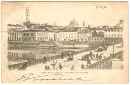 PONTE DELLE GRAZIE E LUNG'ARNO DELLA BORSA - Firenze