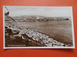 29477 PC: ISLE OF WIGHT: The Pier, Shanklin. REAL PHOTOGRAPH. - England