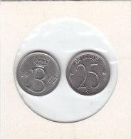 25 CENTIMES Cuivre-nickel Baudouin I 1967 FR Et FL - 1951-1993: Baudouin I