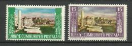 "Turkey; 1953 Tourist Propaganda Of Ephesus 15 K., ""Proof Print"" - 1921-... Republic"