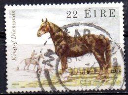 "IRELAND 1981 Famous Irish Horses - 22p. - ""King Of Diamonds"" (Draught Horse)   FU - Used Stamps"