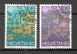 Switzerland 1988 Europa CEPT VF USED (S1414A) - Europa-CEPT