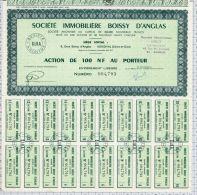 Sté Immmobiliere Boissy D'Anglas à Bougival Dpt 78 - Industrie