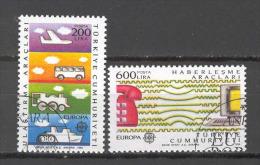 Turkey 1988 Europa CEPT VF USED (S1416) - Europa-CEPT