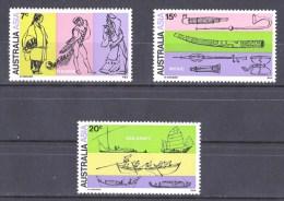Australia 1971 Asia Orientalists Congress Set Of 3 MNH - 1966-79 Elizabeth II