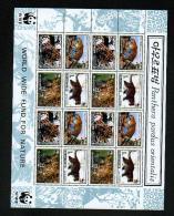 "WWF - Nord-Korea - Mi.Nr. 4085 / 4088 - ""Amur-Leopard"" (4-er Kleinbogen / 4 Set Mini Sheet) ** - W.W.F."