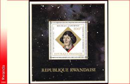 Rwanda BL 033**  Copernic  MNH