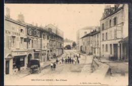 BRUYERES - EN - VOSGES . Rue D'Alsace . - Autres Communes