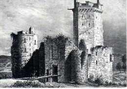 56 - ELVEN - Les Tours De L'ancienne Forteresse De LARGOET - Elven