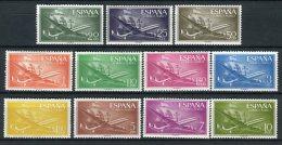 España 1955. Edifil 1169-79 ** MNH - 1951-60 Nuovi
