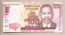 Malawi - Banconota Non Circolata Da 100 Kwacha - 2012 - Malawi