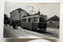 CP Photo Tramway N° 21 De Colmar Col Schnabel - Tramways