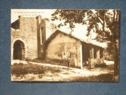 CPA-30-SAINT ALEXANDRE-Lavoir Public-animée-(port Gratuit) - Autres Communes