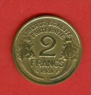 France - 1931 - République De Morlon - Bronze Aluminium - France