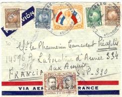 LBL23 - PARAGUAY - PERIODE II GM - LETTRE AVION REC. LEGATION DE FRANCE A ASUNCION / SP 390 JUIN 1940 - Paraguay