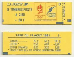 CARNET BRIAT  ALBERVILLE 92  NEUF FERME N°  2715 C1  COTE  17 EUROS - 1989-96 Marianne Du Bicentenaire