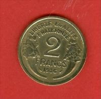 France - 1936 - République De Morlon - Bronze Aluminium - France