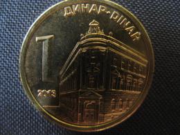 Coin  1 Dinar Serbia 2013, Unc - Servië