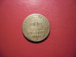 FRANCE @ 50 Cmes NAPOLEON III 1868 A Empire Français @ 2 Photos - France