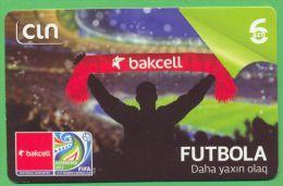 Azerbaijan GSM Prepaid - Bakcell CIN 6 Manat /like UNC / Sport Football - Azerbeidzjan