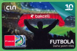 Azerbaijan GSM Prepaid - Bakcell CIN 10 Manat /like UNC / Sport Football - Azerbaïjan