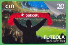 Azerbaijan GSM Prepaid - Bakcell CIN 20 Manat /like UNC / Sport Football - Azerbaïjan