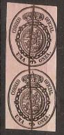 España U 0036 (o) Escudo. 1855. Pareja - Gebraucht