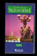 Cassette Video VHS: Les Plus Belles Villes Du Monde, Paris, France (13-4689) - Travel