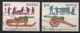Norwegen  (1985)  Mi.Nr.  921 + 922  Gest. / Used  (cc163) - Norwegen