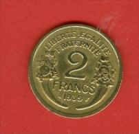 France - 1939 - République De Morlon - Bronze Aluminium - France