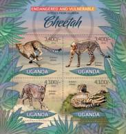Uganda. 2012 Leopard. (402a) - Big Cats (cats Of Prey)