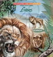 Uganda. 2012 Lions II. (407b) - Big Cats (cats Of Prey)
