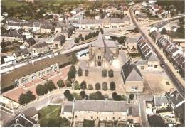 LE CHESNE .. LE CENTRE .. VUE AERIENNE - France